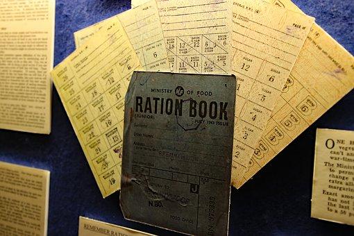 Ration Book, War, Book, British, Ration