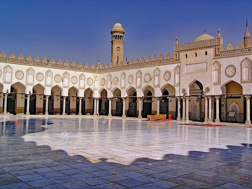 Al Azhar, Mosque, Cairo, Egypt, Africa, North Africa
