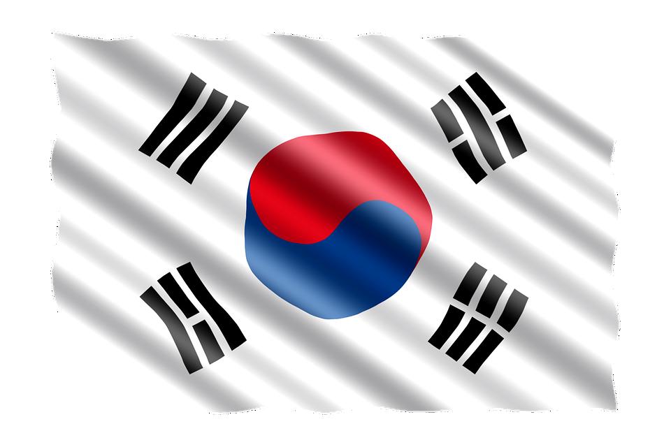 Bandera, Corea Del Sur