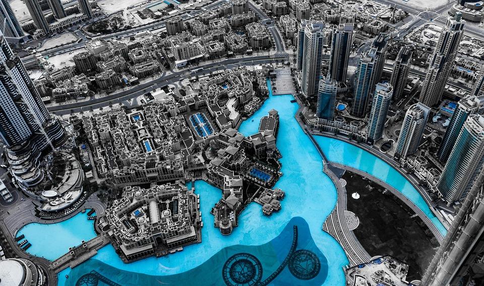 名古屋のグラージュはドバイ旅行に強いブランド、グラマラスヴォヤージュを展開ドバイ, スカイライン, 市, アーキテクチャ, 超高層ビル, ドバイのスカイライン, 大都会, モダン