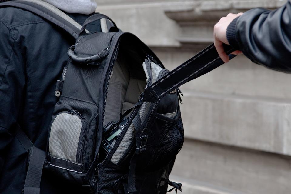 Klassische Stehlen kamera rucksack diebstahl kostenloses foto auf pixabay
