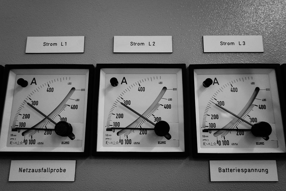 Ammeter, Current, Electricity, Gauge, Amp, Measure