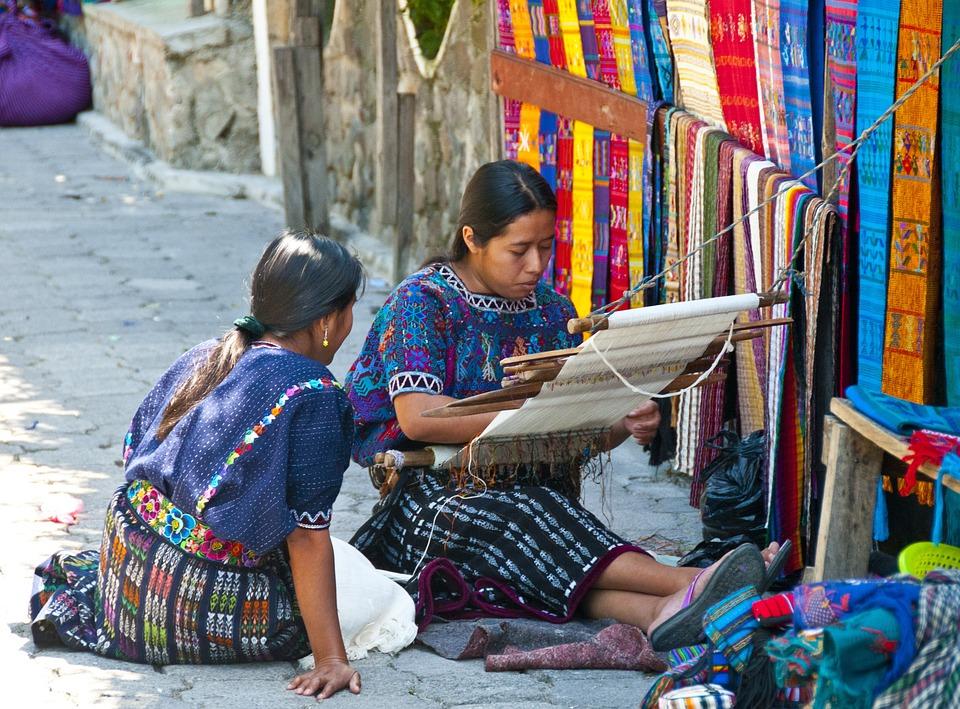 Gwatemala, Atitlan, Kobiety