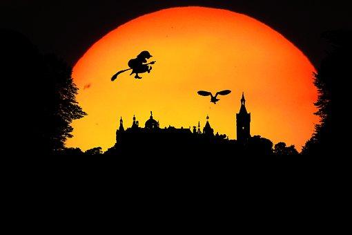 Fantasie, Walpurgisnacht, Landschaft