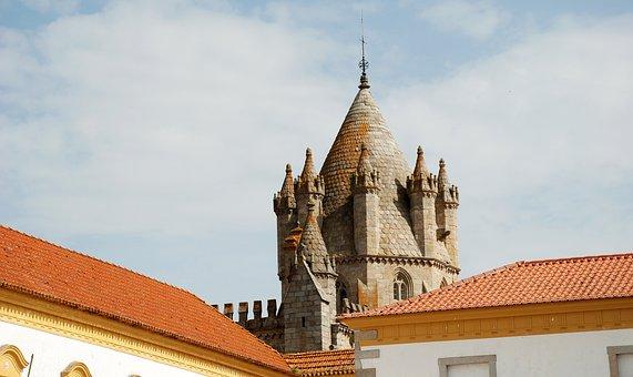 Évora, Tower, Portugal, Travel