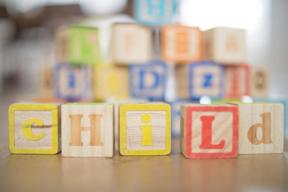 Дете, Дървена, Блокове, Хлапе, Детството, Забавно, Хора