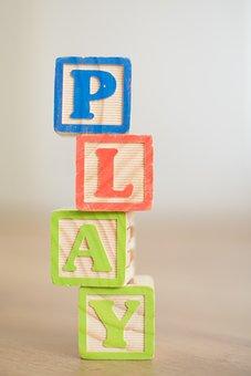 Play, Wooden, Blocks, Child, Fun, Game