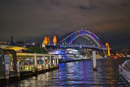 Sydney in 7 Tagen - Sydney bei Nacht