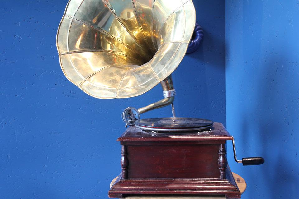 Gramophone, Nostalgia, Turntable Vinyl, Recording