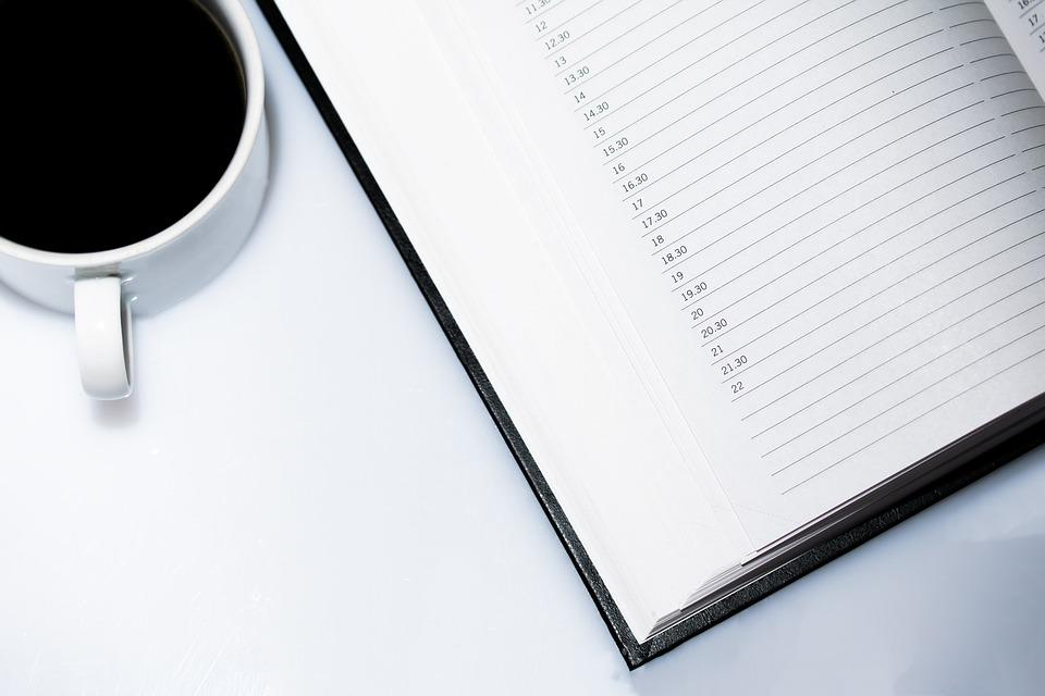 Agenda Appointment Calendar Coffee  Free Photo On Pixabay