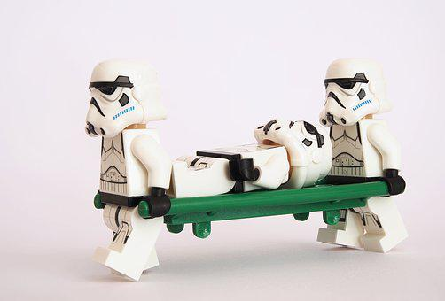 Allt om dating -Stormtrooper, Lego, Stretcher, Litter