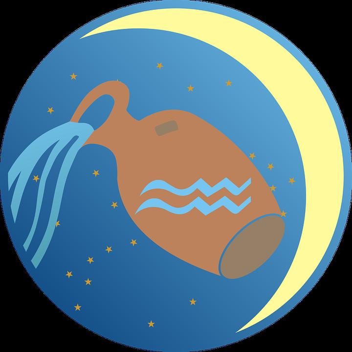 Aquarius Zodiac Sign Free Vector Graphic On Pixabay