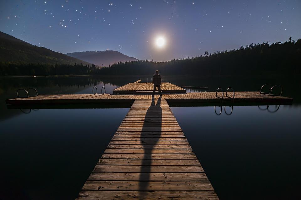 Solo, La Astronomía, Azul, Columbia Británica, Canadá
