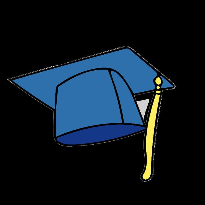Graduation Cap Icon Clipart · Free image on Pixabay
