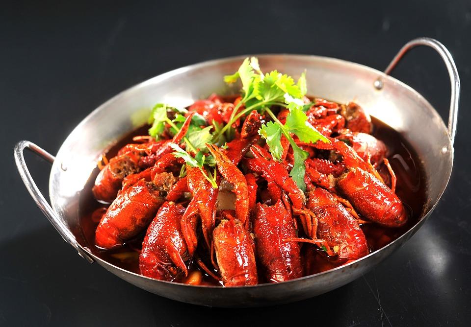 Gambero, Olio Spezzatino Di, Cibo, Gourmet, Hunan