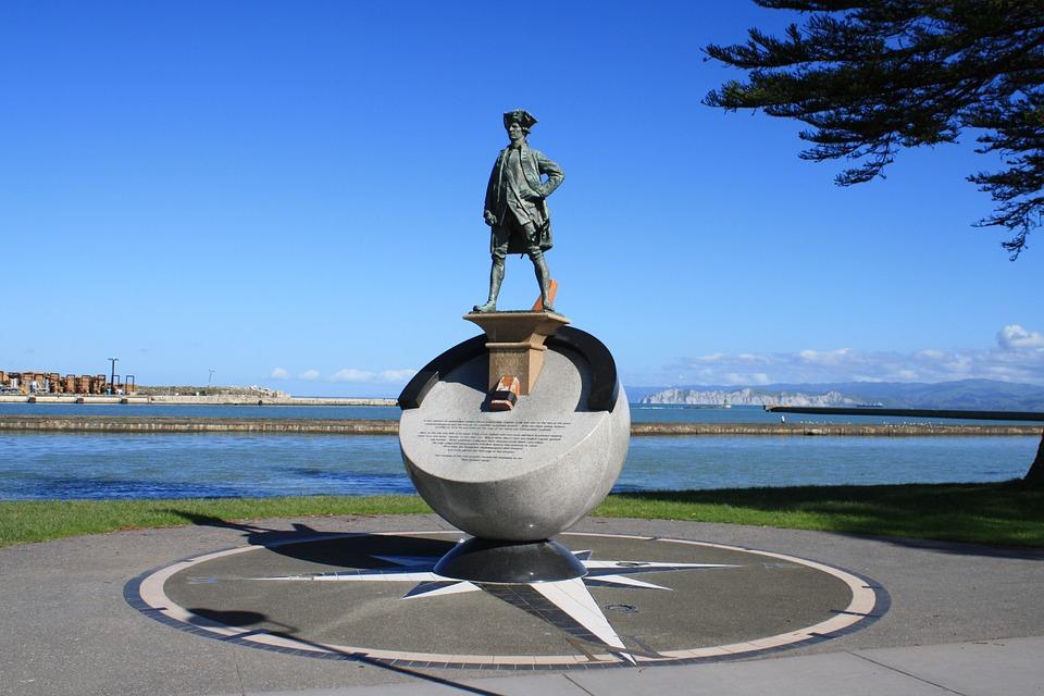 Gisborne City monument