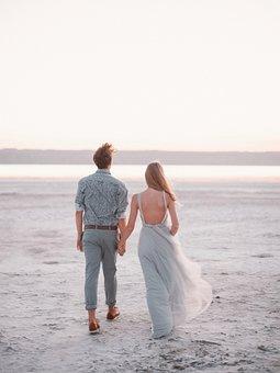 Casal, Amor, Sentimentos, Beira Mar