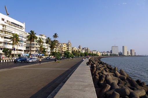 Marine Drive, Boulevard, South Mumbai