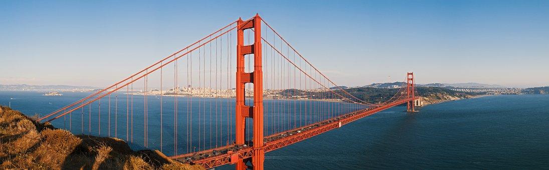 Panoráma, Kalifornia, A Golden Gate-Híd