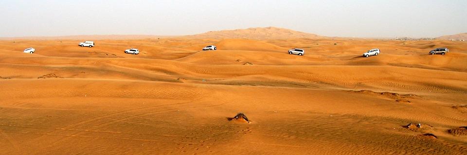 Dubai, Desert, Dune, Uae, Emirates, Sand, Travel