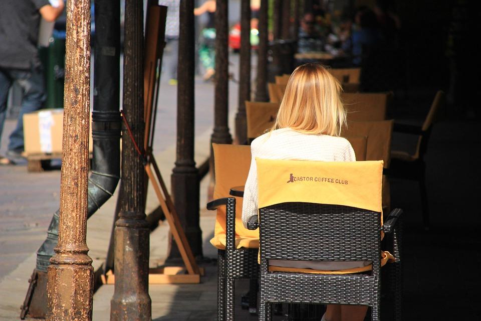 Café, Resto, Mulher, Cafeteria, conteúdo para Instagram de cafeterias