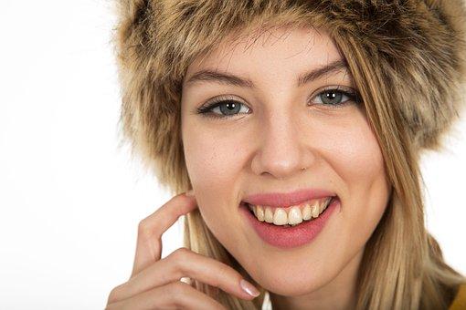 Laugh, Woman, Teeth, Beautiful, Model
