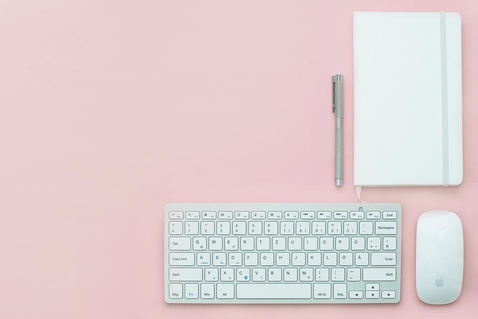 Luogo Di Lavoro, Ufficio, Scrivania, Business, Blogging