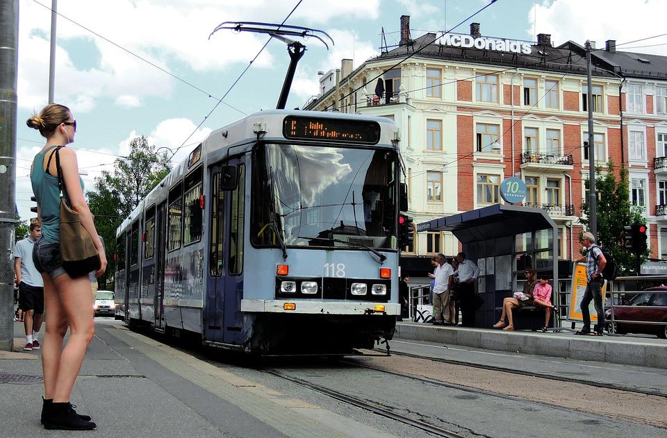Oslo, Trikken, Tram, Narrow Gauge, Oslotrikken
