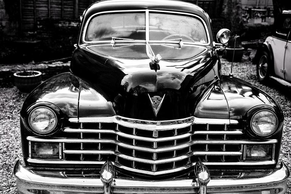 Vintage car cadillac automobile
