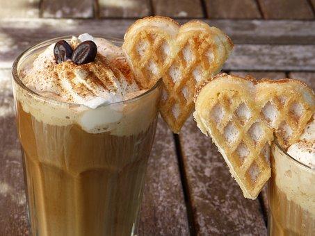 Caffè Ghiacciato, Caffè, Ghiaccio, Crema