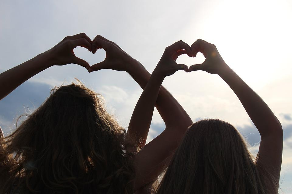 Heart, Hand, Love, Romance, Joining Together