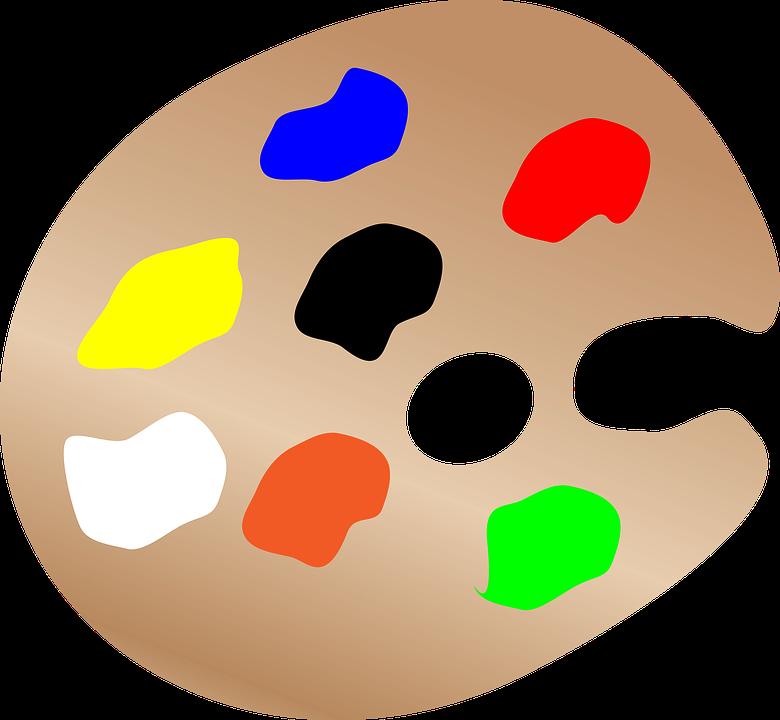 Paleta Farb, Prosty, Projekt, Artystyczny