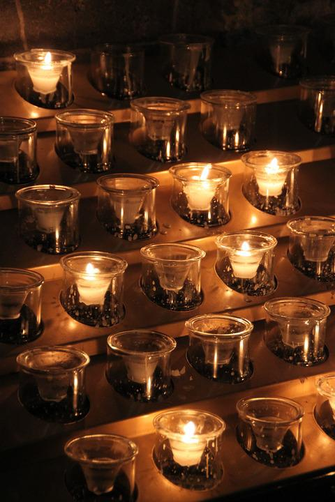 candle prayer candlelight church catholic & Candle Prayer Candlelight · Free photo on Pixabay