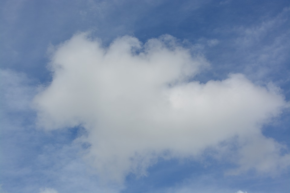 Free photo: Sky, Cloud, Form, White, Blue - Free Image on Pixabay ...