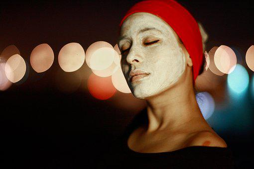 Women'S, Mask, Face, Beautiful, Model