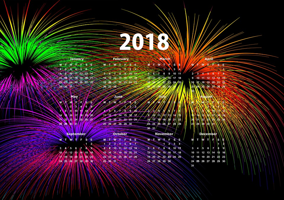Clipart Silvester 2018 Kostenlos