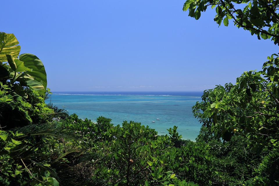沖縄 青い海 - Pixabayの無料写真