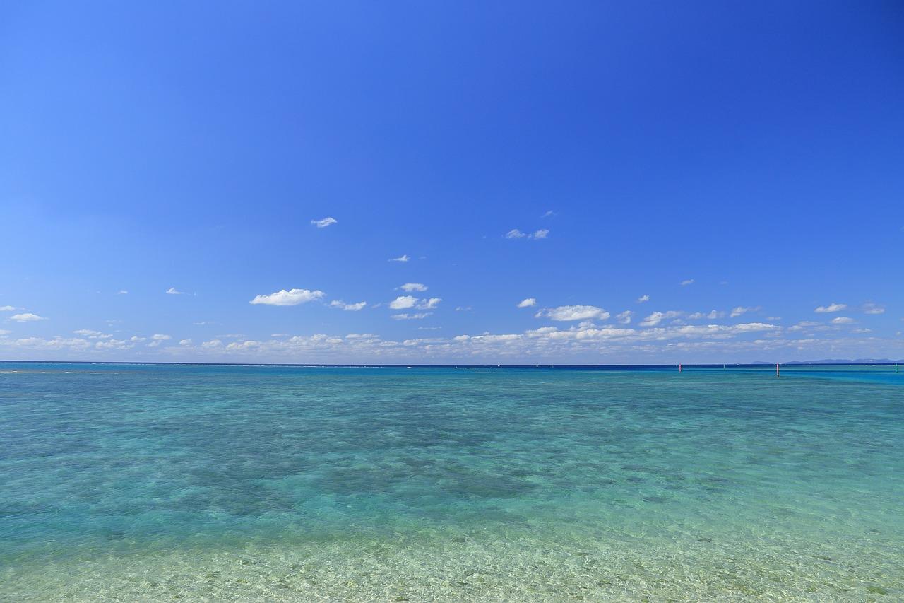 青い海 青空 沖縄 - Pixabayの無料写真