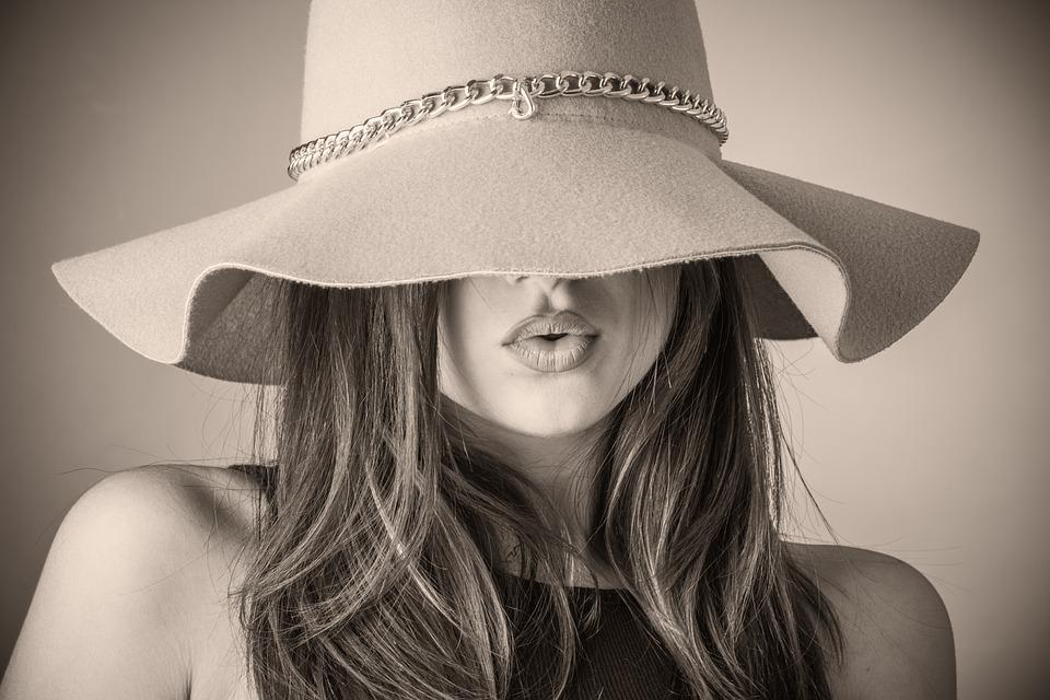 Fashion, Beautiful Woman, Woman, Hat, Covering