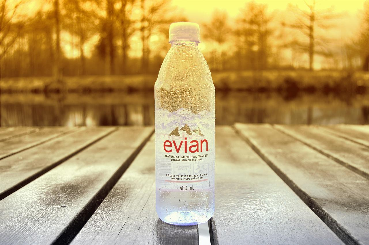 """Evian (the bottled water) spelled backwards is """"naive."""
