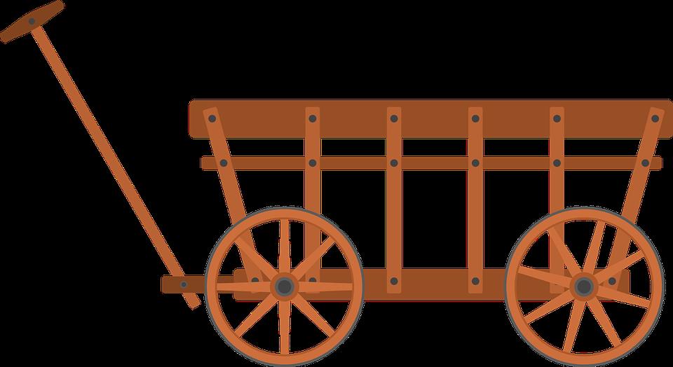 handcart stroller cannon cars cart wheel towbar