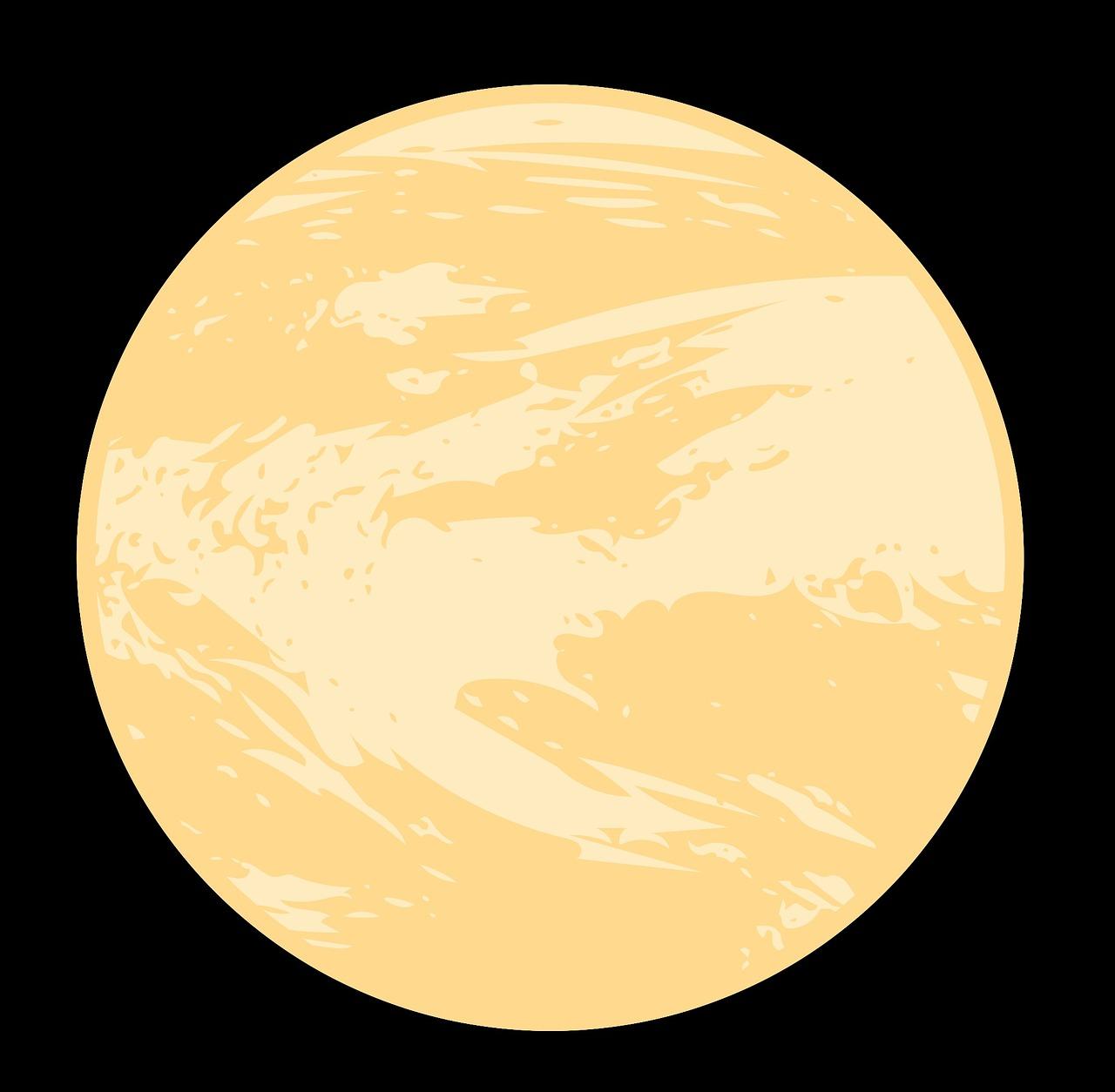 Венера планета картинки рисунки