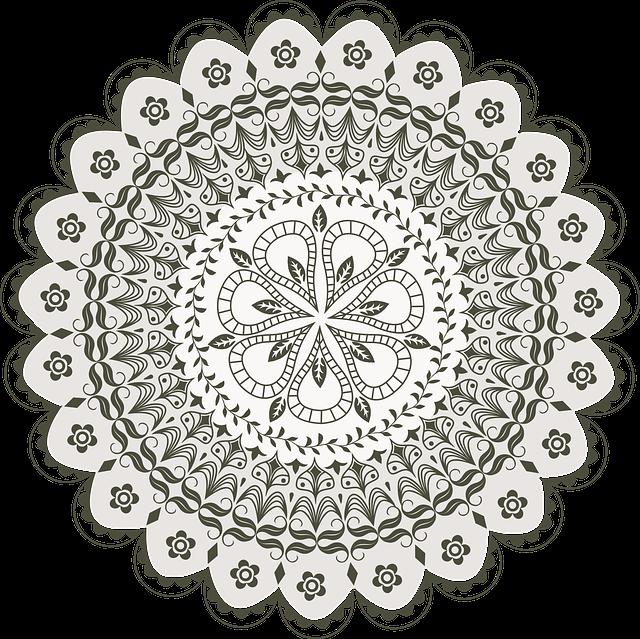 Vector Mandala Drawing 183 Free Vector Graphic On Pixabay