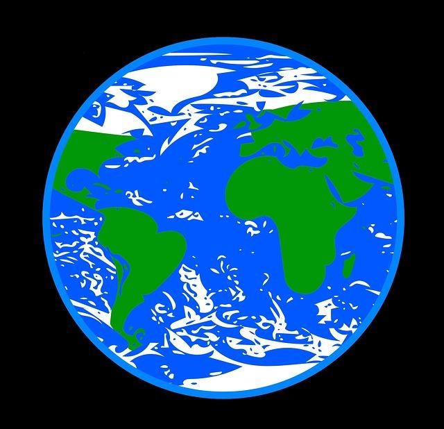 Планета земля рисунки