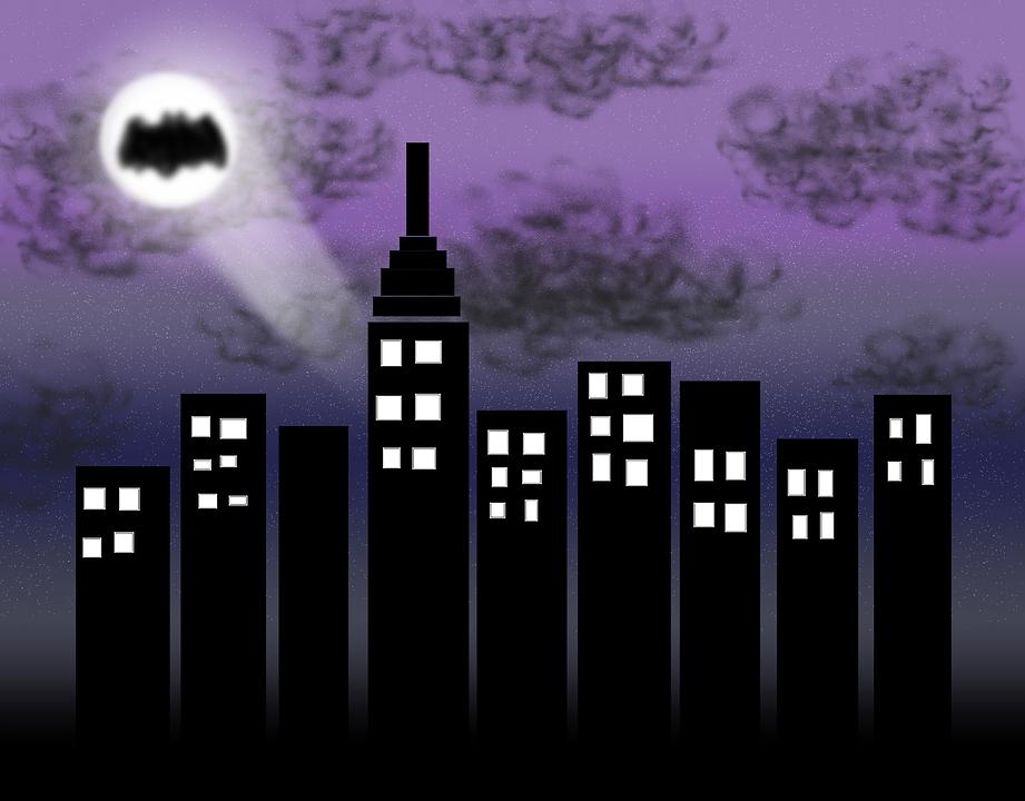 Taxi New York >> City Gotham Batman · Free image on Pixabay