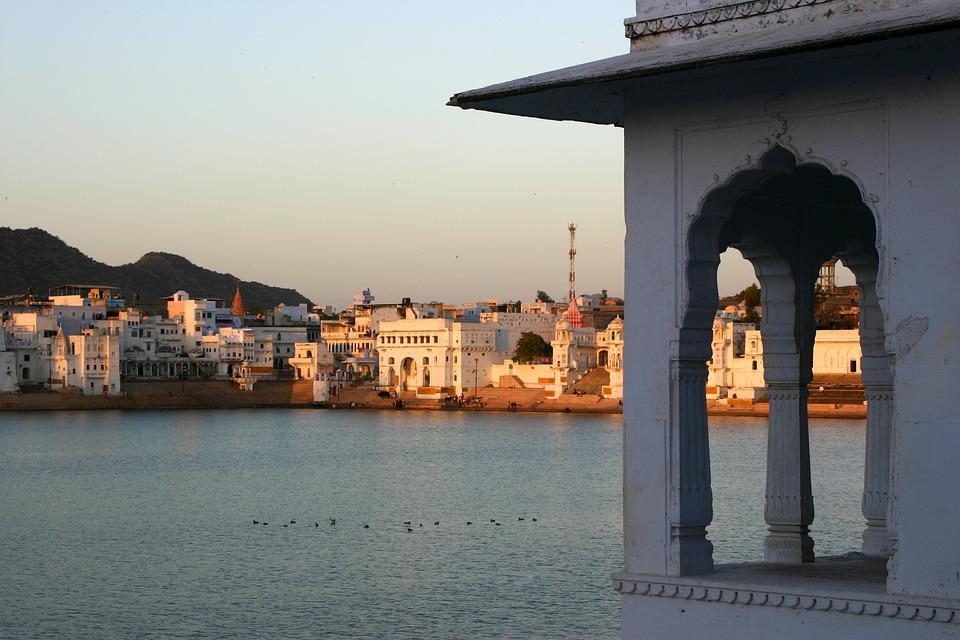 Pushkar, India, Sacred, Hinduism, Rajasthan, Lake
