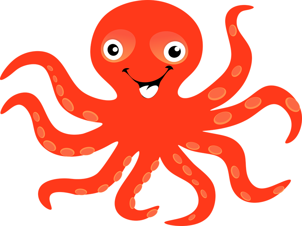 Octapus clipart cliparts galleries for Octopus in cartoon