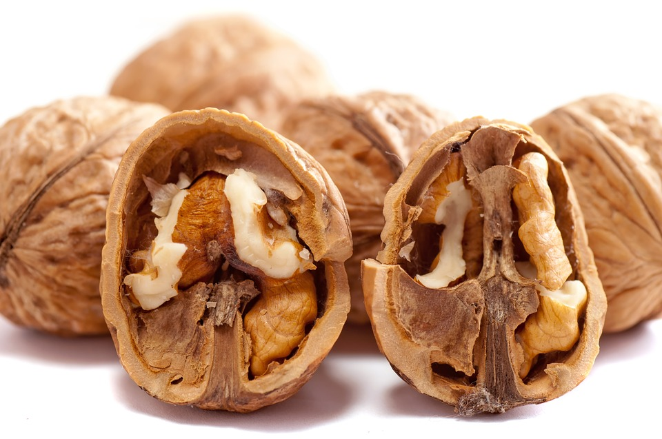 Walnuts, Nuts, Brown, Close-Up, Cracked, Dry, Food