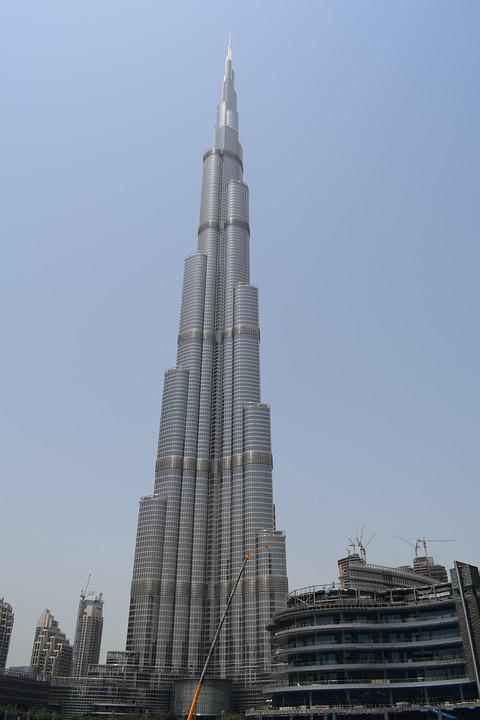 Burj Khalifa Dubai Skyscraper - Free photo on Pixabay