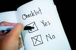 checklist, decision